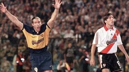 Palermo nunca dudo en vivir los super clásicos al máximo I Foto: Prensa Boca Juniors