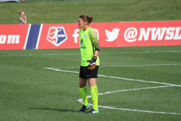 Nicole Barnhart was a top goalkeeper in top form in 2017 | Source: Cindy Lara - VAVEL USA