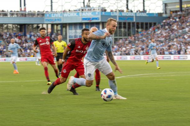 Johnny Russell was one of the best players on the field tonight | Source: Cindy Lara Photos-VAVEL USA