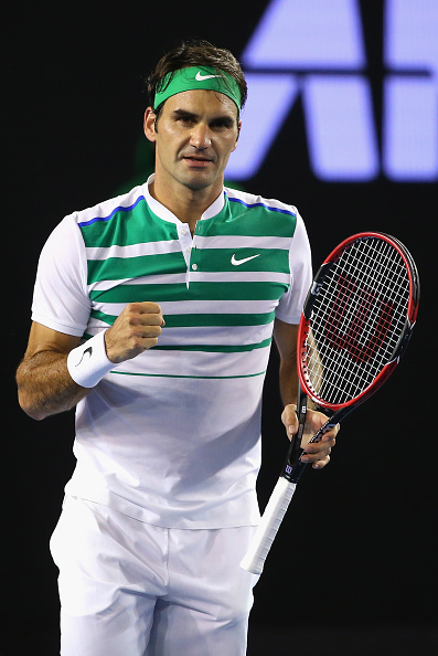 Federer With A Comfortable Win | Photo Courtesy of: Quinn Rooney (Getty Image)