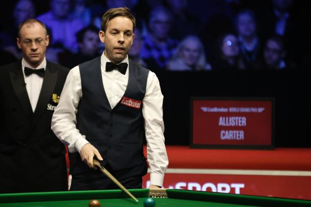 Ali Carter upsets the form book to see off Judd Trump | Photo: worldsnooker.com
