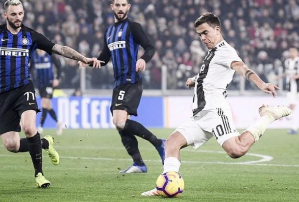 Dybala tuvo un buen primer tiempo pero desapareció en el 2º I Foto: @Juventus