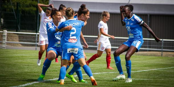 Soyaux got off to a great start with a win over Rodez | source: asjsoyauxcharente.com