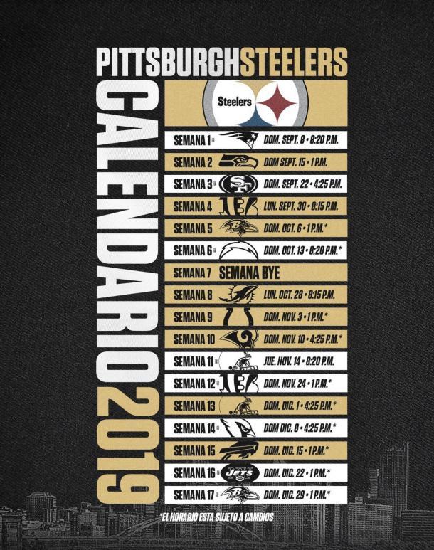 La AFC Norte será la división más pareja de la temporada // Foto: Pittsburgh Steelers