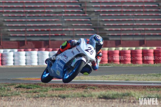 Nueva categoría y nuevo equipo, Miguel en el circuito de Albacete. Foto: Rocío Hellín   Vavel España.