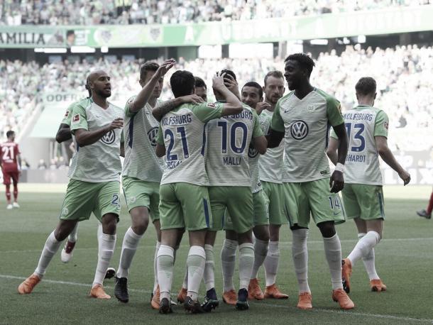 Malli festejando un gol con sus compañeros I Foto: GettyImages