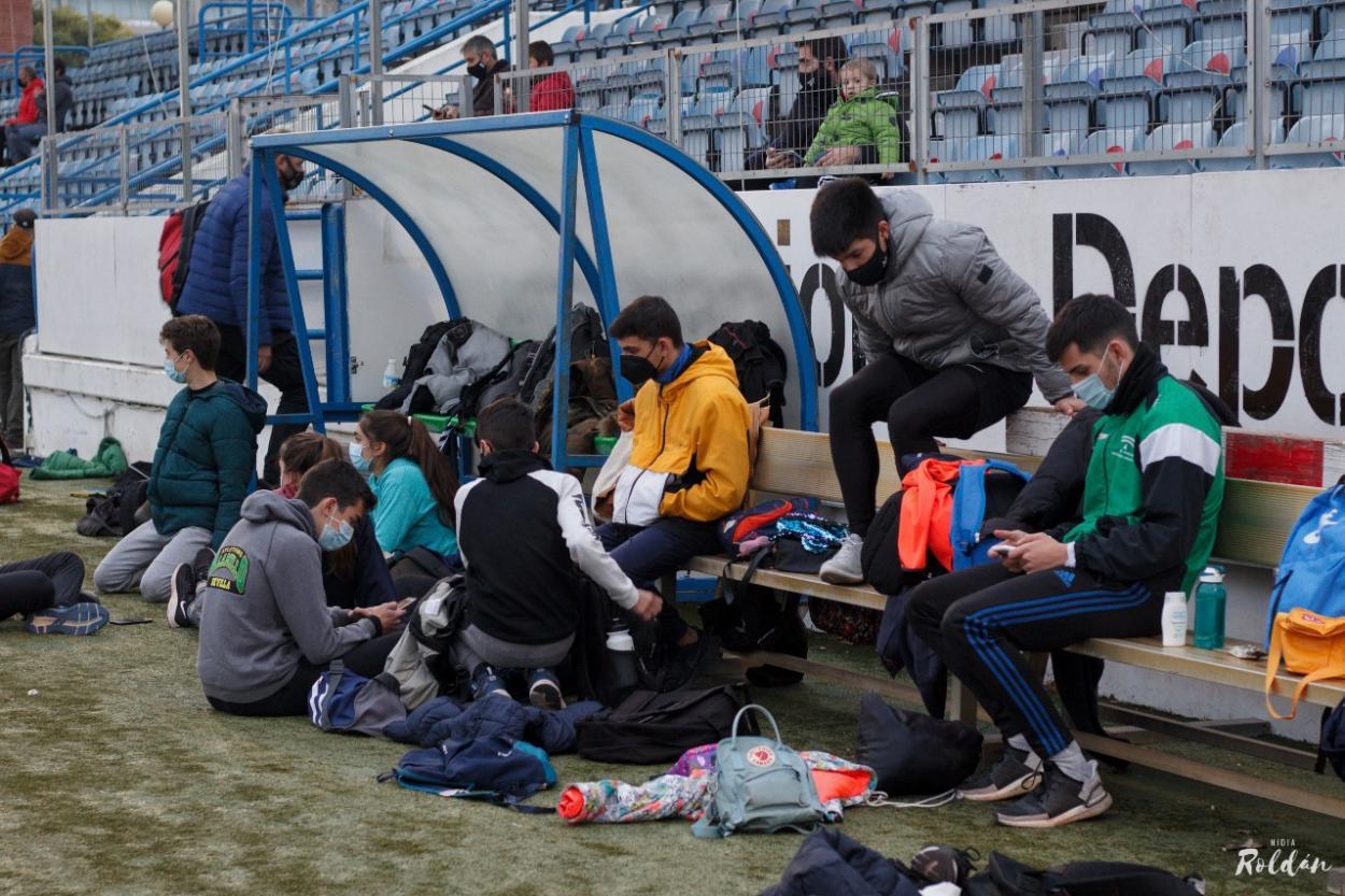 Equipo Atletismo Alamillo   Foto: Nidia Roldán