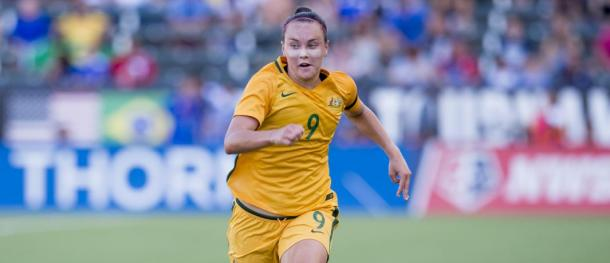 Caitlin Foord will join Portland in 2018 | Photo: Portland Thorns
