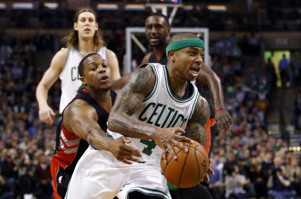 The Raptors will have an early meeting against one of their bigger rivals in the league in the Boston Celtics. Photo: David Butler II-USA TODAY Sports