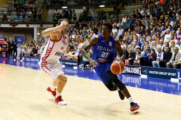 Awudu Abbass Nazionale Italiana Maschile Senior  2019 FIBA World Cup Qualifiers Italia Croazia Italy Croatia FIP 2018 Trieste, 28/06/2018 Foto Ciamillo-Castoria