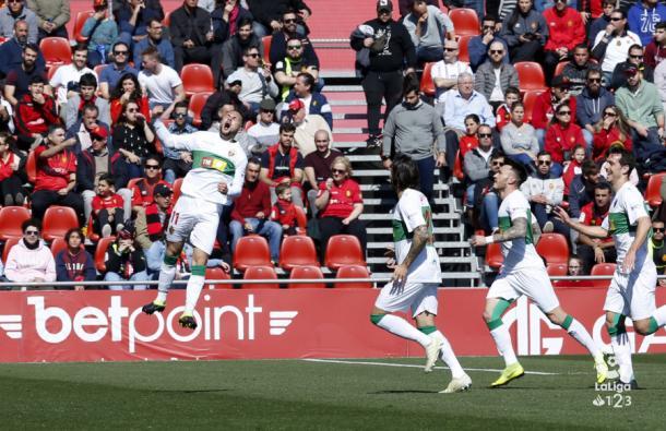 Gol de Iván al Mallorca | Fuente: La Liga