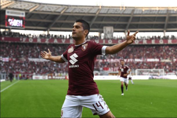 Iago Falque celebra un gol | Foto: Getty Images