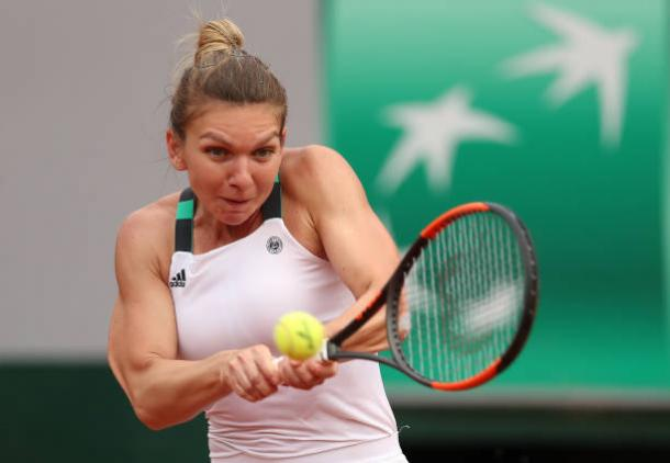 Simona Halep's backhand is one of the best on the tour and could be a key shot for her in her attempt to take the French Open title (Getty/Ian MacNicol)