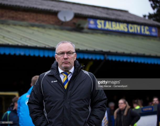 Ian Allinson adds to his St Albans City squad. Source | Getty Images.