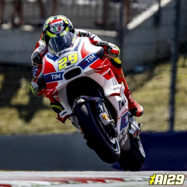 Andrea Iannone on the pace again at the Red Bull Ring - www.twitter.com (Andrea Iannone)