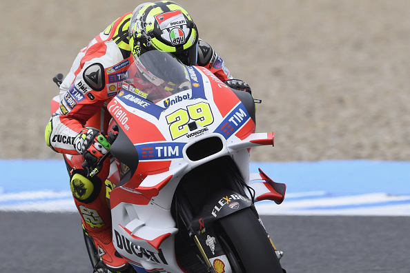Iannone in action during Jerez | Photo: AFP
