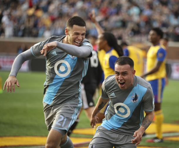 Ibarra and Ramirez both scored against D.C. United. | Source: Star Tribune.