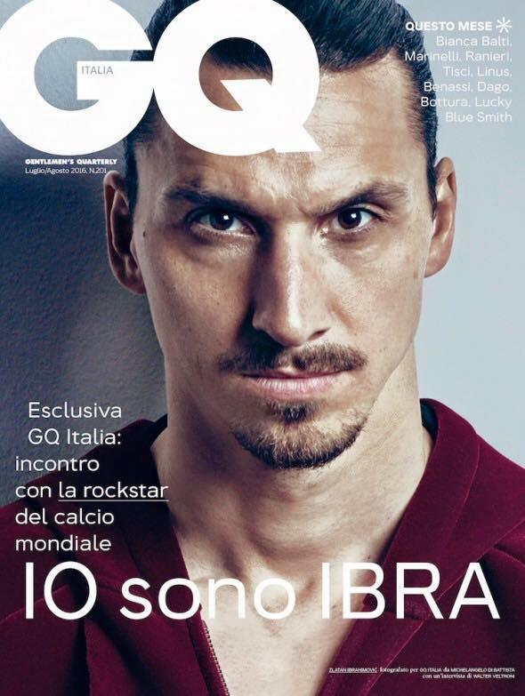 Ibra é capa da revista GQ (Foto: Divulgação/GQ)