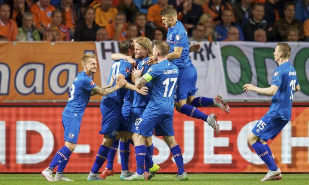 Iceland beat 2010 World Cup finalists Holland at the Amsterdam Arena (Source: ShutterStock)