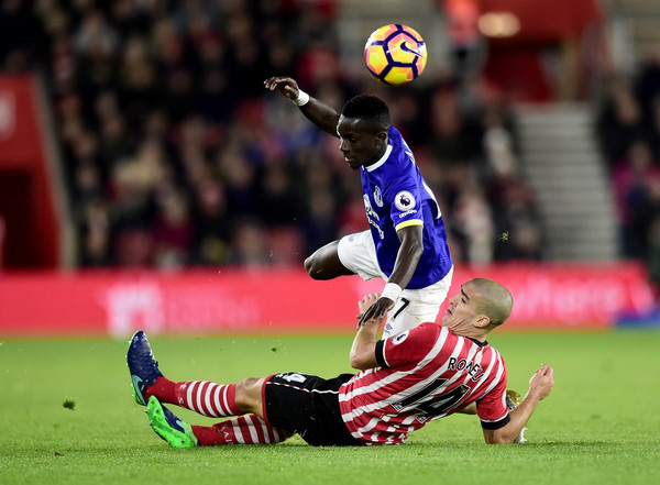 The away side got back into the game, but were overall second best to Southampton in the opening 45 minutes. Photo: Getty (Alex Broadway).