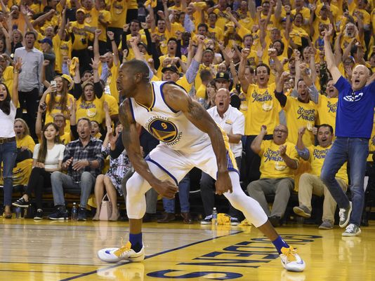 Andre Iguodala scored 14 points off the bench for the Golden State Warriors. (Photo: Kyle Terada, USA Today)