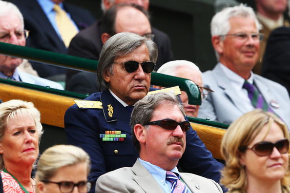 The All-England Club have come under increasing pressure to suspend the Romanian from entering the Royal Box (Photo: Clive Brunskill/Getty Images Europe)