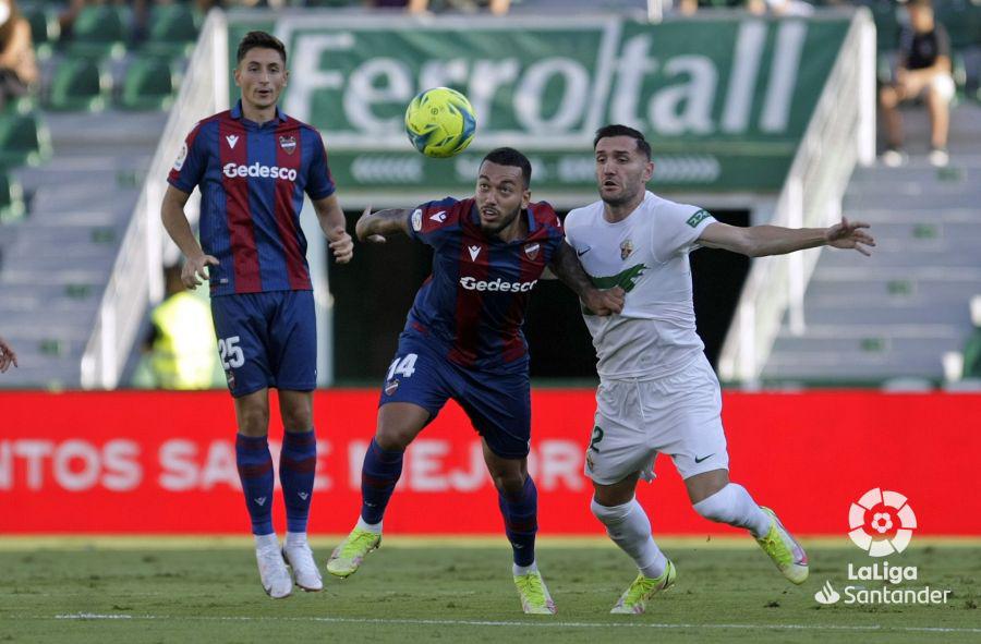 Elche vs. Levante | Fuente: LaLiga