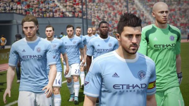 David Villa en FIFA 16 (Imagen: espnfc.com)