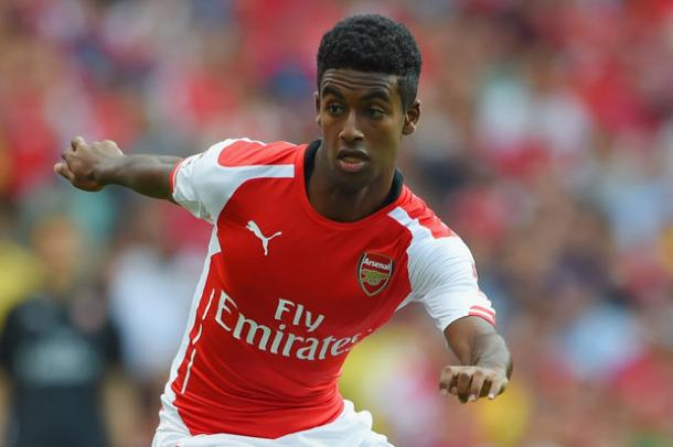 Gedio Zelalem en un partido con el Arsenal (Imagen: dailystar.co.uk)