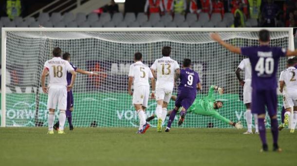El último encuentro en Florencia acabó con empate a cero | Foto: AC Milan