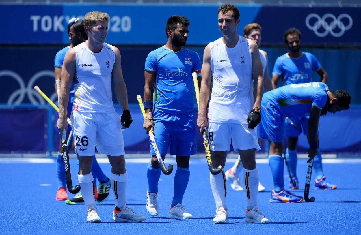 India vs Bélgica, Juegos Olímpicos // Fuente: Selección de India