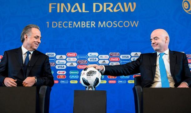 El presidente de la FIFA está convencido de que será el mejor Mundial de la historia. (Foto: FIFA.com)
