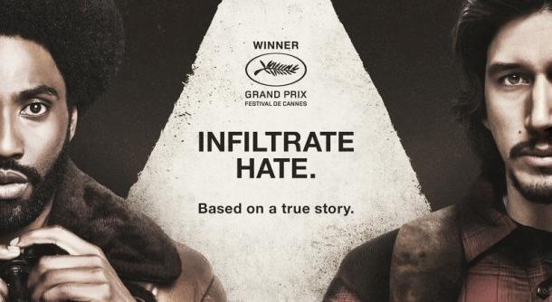 Afiche Infiltrado en el KKKLAN. Fotografía de Fucking Cinephiles