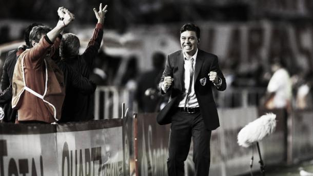 Marcelo Gallardo, campeón como jugador y entrenador | Foto: Infobae