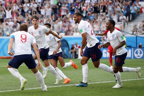 Inglaterra es una de las selecciones con más goles a favor: ocho en tres partidos. Foto: Marca.