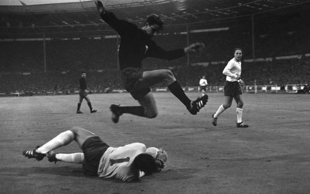 Inglaterra vs México, estadio de Wembley 1966