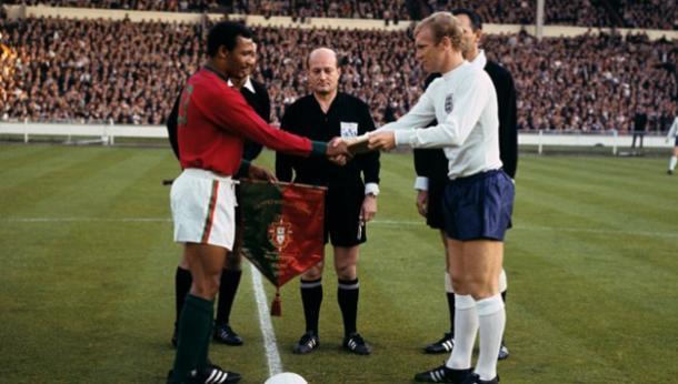 Inglaterra vs Portugal, estadio de Wembley 1966