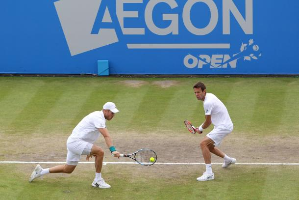 Inglot/Nestor were competing in just their second tournament together as a partnership. Photo: Getty