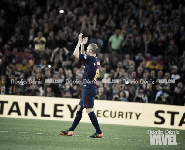 Andrés Iniesta será homenajeado por el Camp Nou | Foto: Noelia Déniz - VAVEL