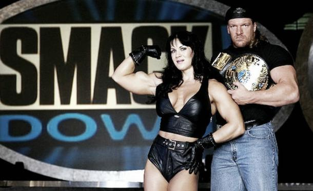 Classic Chyna and Triple H Photo: Inquisitr