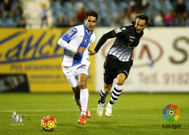 Pablo Insua, jugador del Leganés. | Foto: LFP