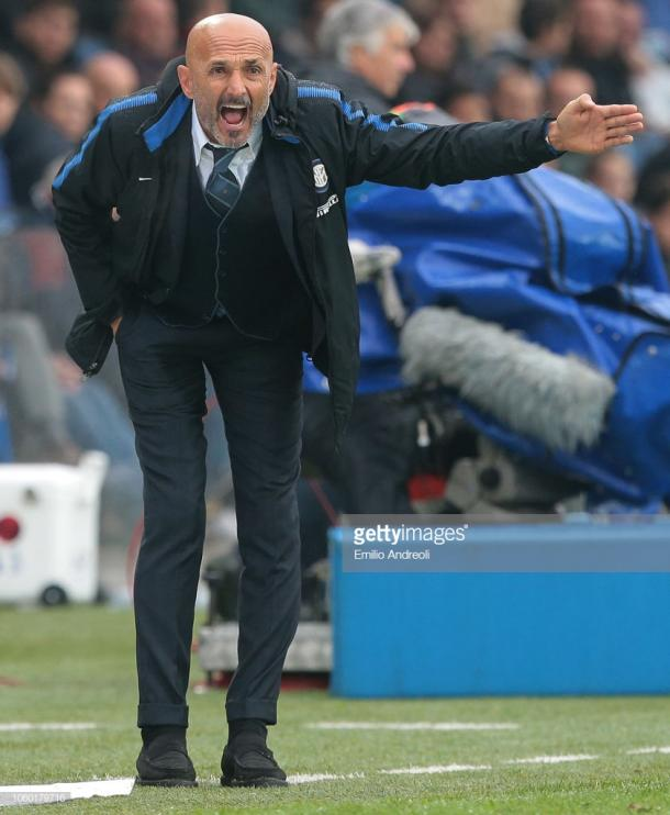 Spaletti. Foto: Getty images.