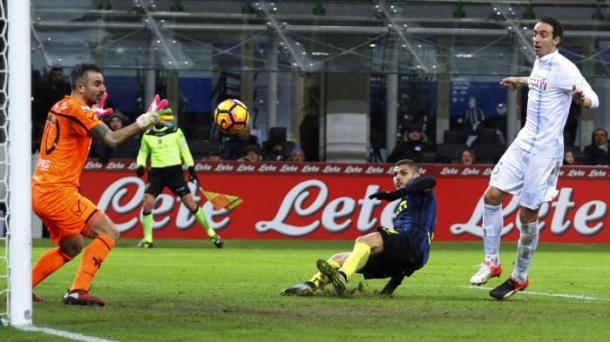 Un momento di Inter-Chievo. it.eurosport.com