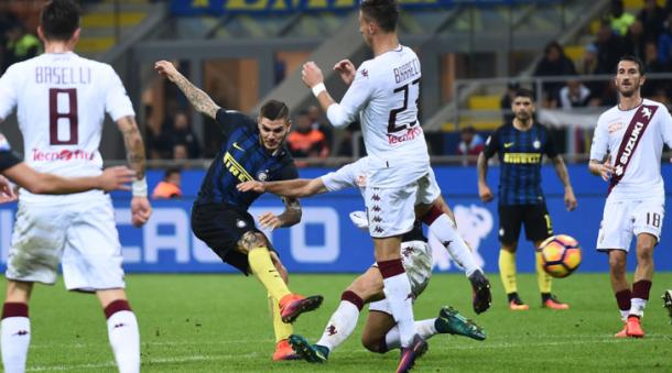Il destro vincente di Icardi contro il Torino, tuttosport.com