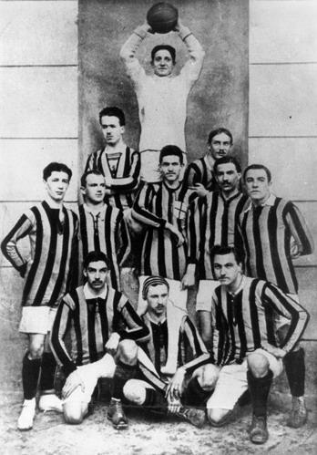 L'Inter del 1909/1910 | Foto: Wikipedia