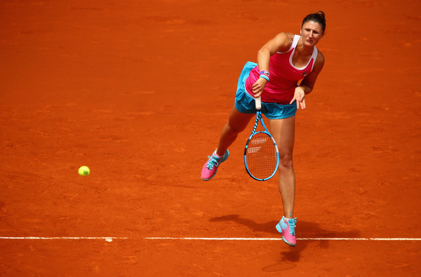 Irina-Camelia Begu seemed on course for a comeback although things turned out otherwise | Photo: Clive Brunskill/Getty Images Europe