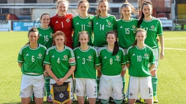 Selección sub-19 femenina de Irlanda del Norte | Foto: UEFA