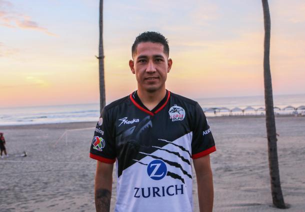 Zúrita jugó 11 partidos con Atlante | Foto: Lobos BUAP