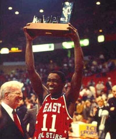 Isiah, MVP del All-Star de 1984