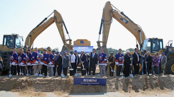 Acto de inicio de las obras / NHL.com